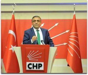 Genel Başkan Yardımcısı ve İstanbul Milletvekili Sezgin Tanrıkulu