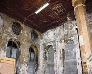 Bursa Mayor sinagogu restorasyon öncesi