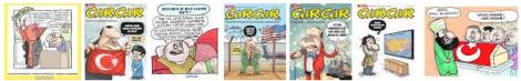 """GırGır dergisinde Yahudileri aşağılayıcı karikatürden sonra Sosyal Medyada """"Tevrat'ın toplattırılması"""" önerildi…"""
